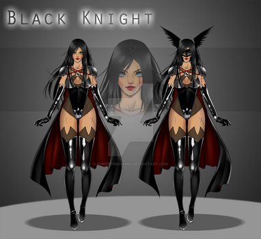 [ closed ] Auction Adopt - Black Knight by CherrysDesigns