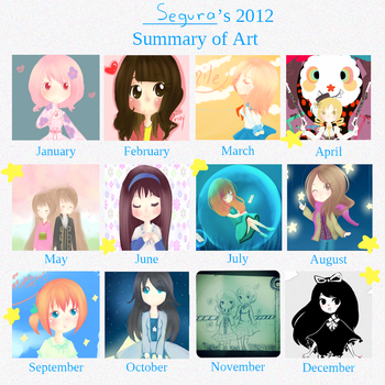 Summary of art 2012 by alma-plateada