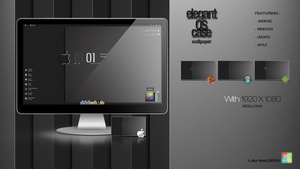 ELEGANT OS CASE Wallpaper by hpluslabels