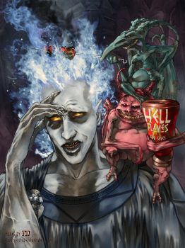 Disney tribute - Hades BBQ by Kanthesis