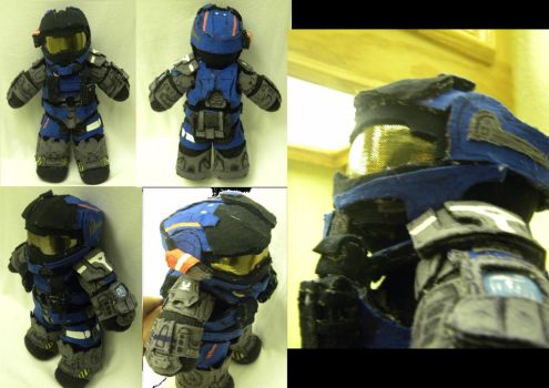 Halo Carter Plush by Shogun95
