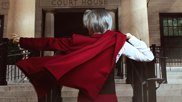 Miles Edgeworth cosplay [4/13] by Jehan-Lavellan