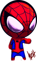 Chibi Spidey by LaRhsReBirTh