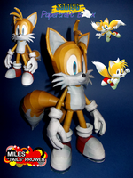 Miles Tails Prower Papercraft by Sabi996