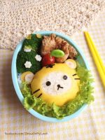 Tiger Rilakkuma Bento Lunch box by loveewa