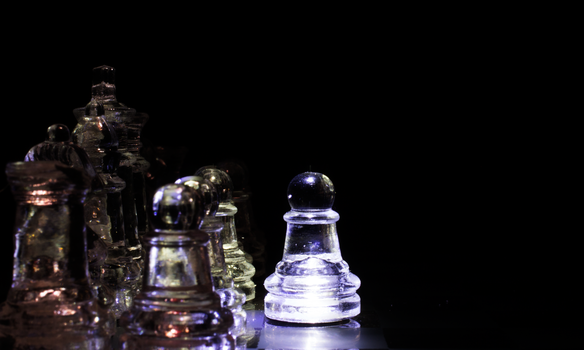 Glass Chess Set 2 by Bluest-Rose
