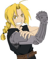 Edward Elric, let's do this by Khirono