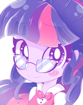 Twilight Sparkle Sees You! by HungrySohma16