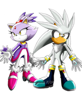 Silver and Blaze Illustration by Aamypink
