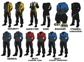 OSB:Advent Suits by Heros-Shadow
