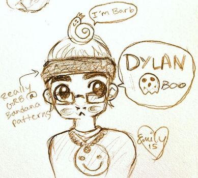 Dylan the Ghost Boy by MooseKatEd