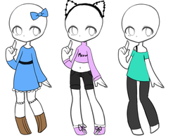 SP Outfit Adopts [3/3 OPEN] by TealParadox
