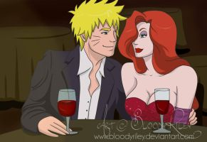 Enjoy The Show - Naruto and Jessica by BloodyRiley