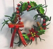 Christmas Wreath by larrysleather