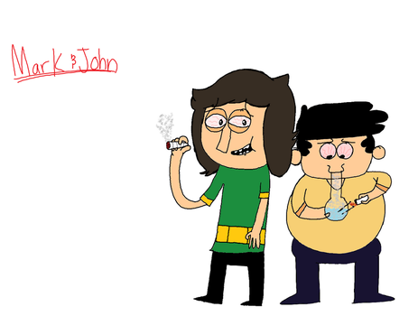 Mark and John: The Stoned Age by BroMcBroski