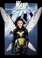 Wasp of the Avengers Initiative by GeekTruth64