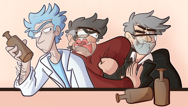 Guys Being Dudes by Mikky-Be