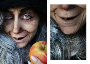 old lady by patynamakeup
