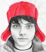 Holden Caulfield/Gerard Way by Mesymes