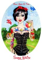 Snow White by psichodelicfruit