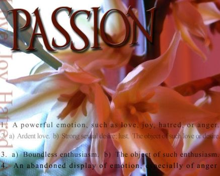 passion by magnifyx