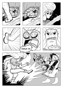 Death of the Death Knight (LDPE Chapter 2 Page 21) by zorbama