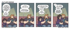 Nerd Rage - Old and Boring by AndyKluthe