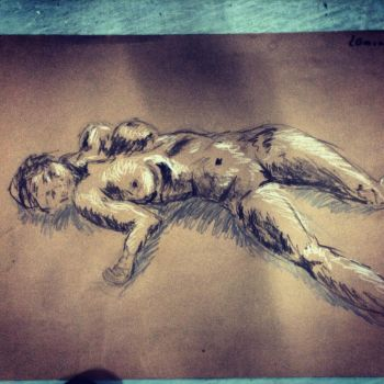 life drawing by tarajusher