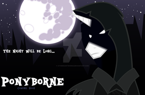 Ponyborne Poster [Fanmade] by XyvernArtworks