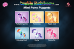 Mini Pony Puppets by oxinfree