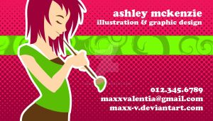 Business Card 2009 by Maxx-V