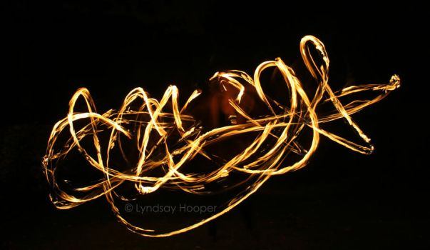 Fire Hoop by AutumnPhyre