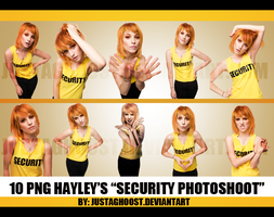 1O PNG de Hayley 'Security' Photoshoot by justaghoost