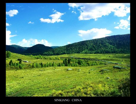 Green In SinKiang by Lotus-su