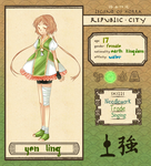 Republic City: Yen Ling by MishaRoute