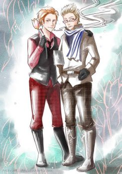 APH Holl and Dan by MaryIL