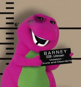 Barney In Prison by OmegaJarrod-X