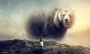 Photo Manipulation Bear - Final by campel0