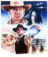 Cowboys and Aliens by RobD4E