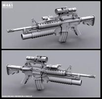 M4A1 Config A by kehlan