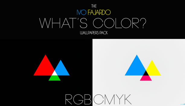 What's Color? Wallpapers Pack by IvoFajardo