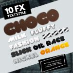 Delicious Text Styles by oliverstoys