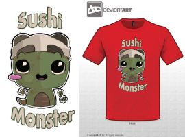 Sushi Monster by yellowsnow