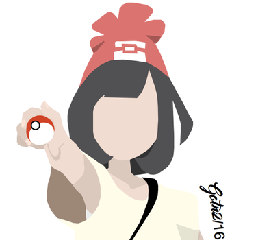 Pokemon: Sun and Moon - Female protagonist by GuardianOfTheNight2