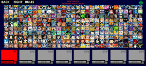 Multiverse Fighters Revolution Roster (Page 1) by SuperMaster10