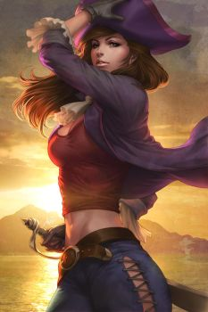 Evelet of The Lost Kids by Artgerm