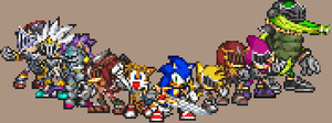 Sonic and the Black Knight by PixelPower23