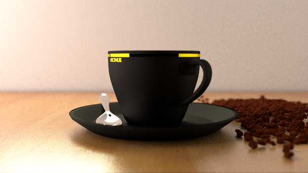 coffee scene- cycles by fascinus