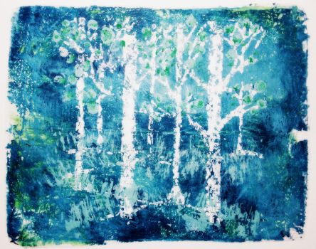 Forest Shade of Blue by Pilly-Pat