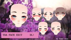 [MMD] TDA Face Edit - DL! by MissCrazyPuppet